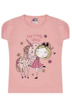 7365 rosa velho blusa infantil feminina