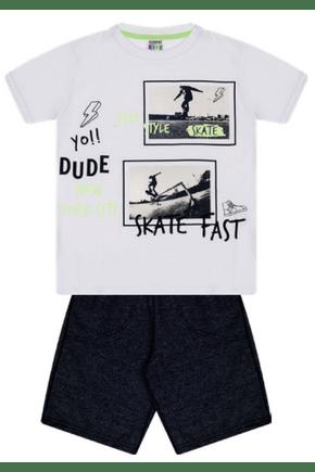 7390 branco conjunto infantil masculino moletom skate