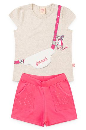 6217 conjunto blusa mescla banana cotton e shorts molecotton 46810 3