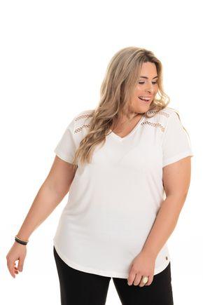 2593 24 tpd 3068 blusa feminina em viscose detalhe renda frente g1 a g4