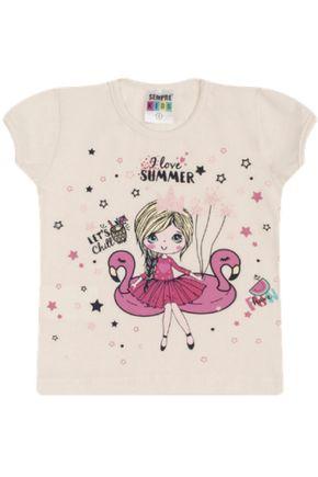 7327 off blusa infantil bailarina flamingo