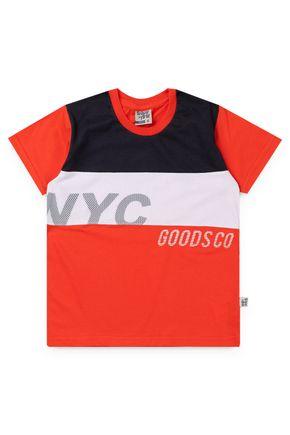 6064 camiseta infantil neon 1