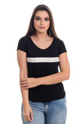 1523 t shirt feminian em viscolycra com faixa e perolas bordada 1